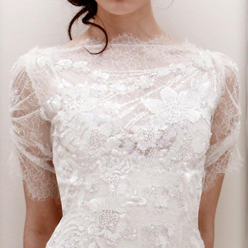 Váy cưới ren đem nét duyên cho nàng dâu - 18