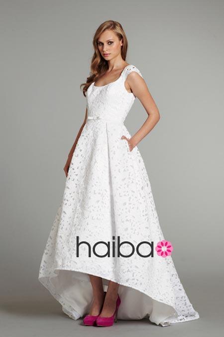 Váy cưới ren đem nét duyên cho nàng dâu - 19