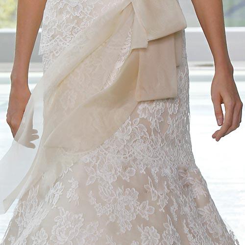 Váy cưới ren đem nét duyên cho nàng dâu - 2
