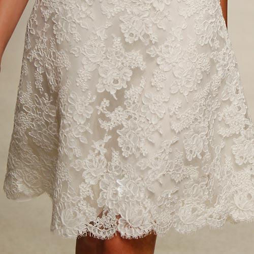 Váy cưới ren đem nét duyên cho nàng dâu - 7