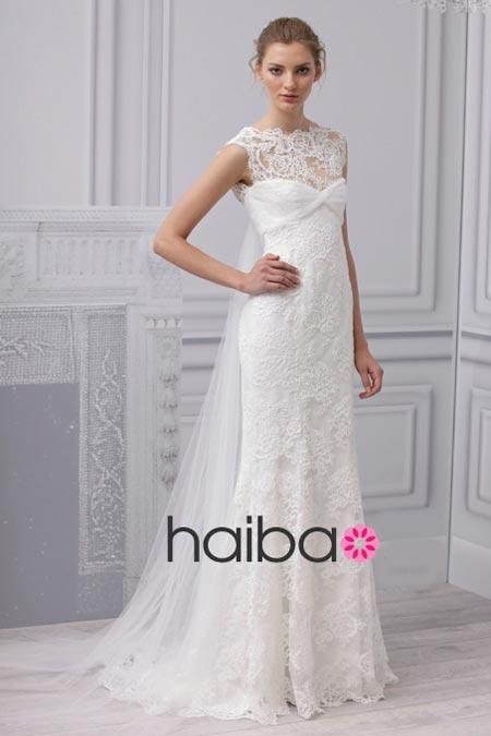 Váy cưới ren đem nét duyên cho nàng dâu - 10