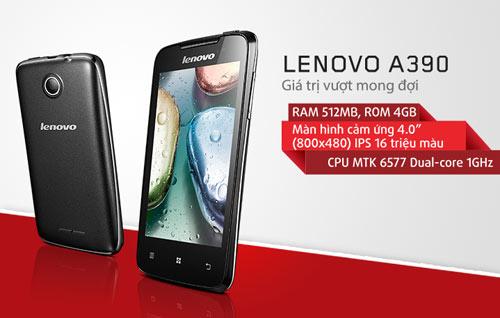Lenovo A390: Smartphone tốt và đáng giá - 1