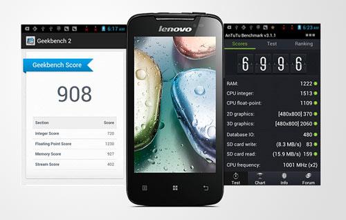 Lenovo A390: Smartphone tốt và đáng giá - 3