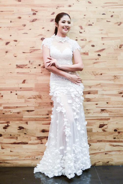 Hoa hậu Ngọc Hân thử đồ trước giờ G - 10