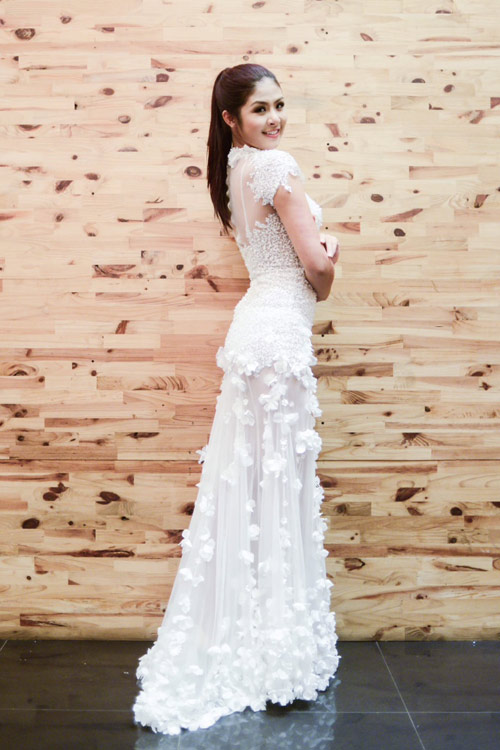 Hoa hậu Ngọc Hân thử đồ trước giờ G - 11