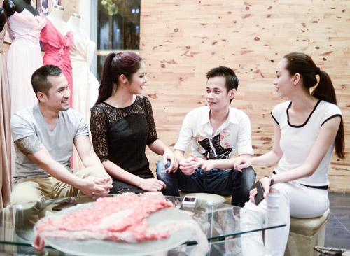 Hoa hậu Ngọc Hân thử đồ trước giờ G - 12