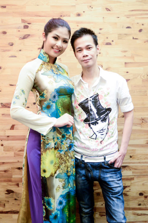 Hoa hậu Ngọc Hân thử đồ trước giờ G - 3