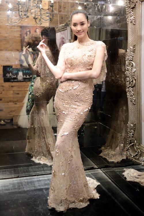 Hoa hậu Ngọc Hân thử đồ trước giờ G - 6