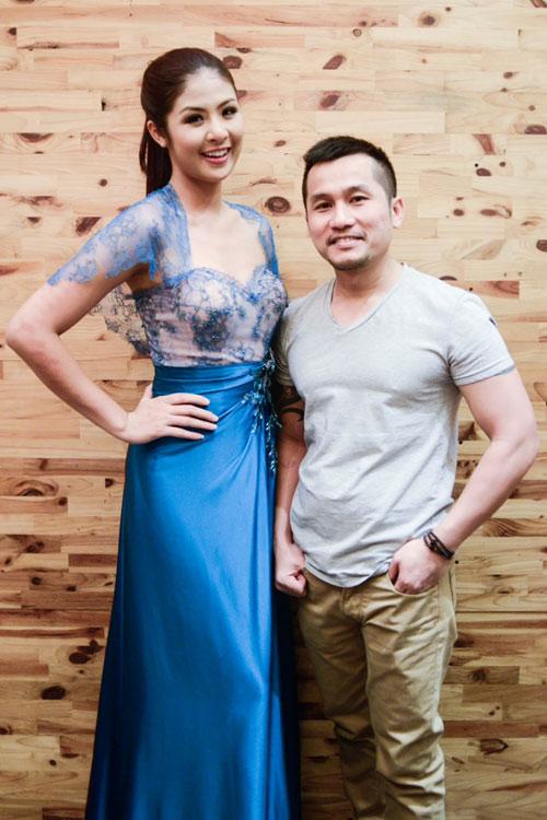 Hoa hậu Ngọc Hân thử đồ trước giờ G - 8
