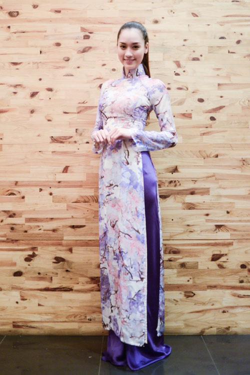Hoa hậu Ngọc Hân thử đồ trước giờ G - 9
