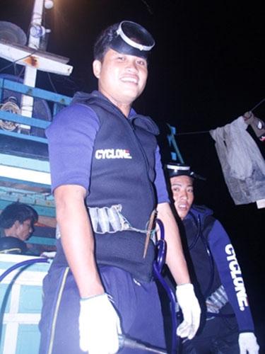 Một đêm lặn biển cùng ngư dân Lý Sơn - 4