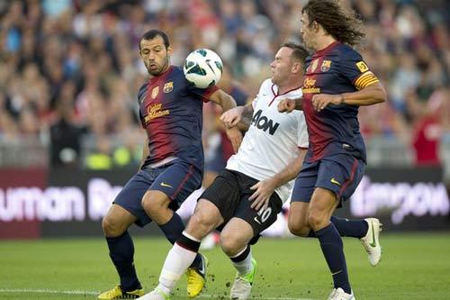 """Barca cũng """"nhòm ngó"""" Rooney - 1"""
