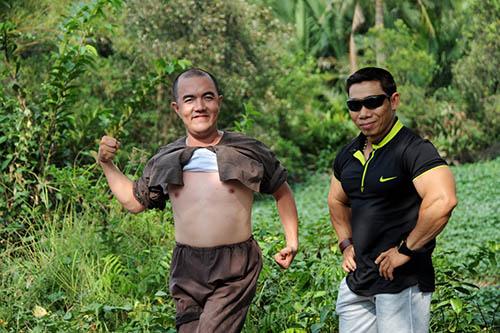 Bi hài bối cảnh phim trường Việt - 4
