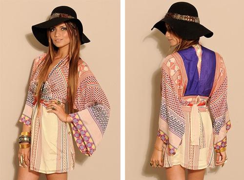 Quyến rũ khó cưỡng với cảm hứng kimono - 16