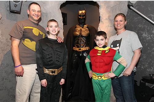 Xây dựng thế giới Batman trong nhà - 5