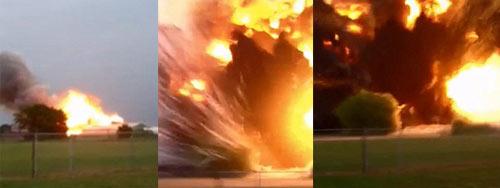 Mỹ: Cảnh tan nát sau vụ nổ như bom hạt nhân - 3