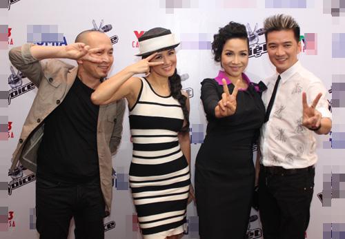 Hậu scandal, Phương Uyên vẫn ở lại The Voice - 4
