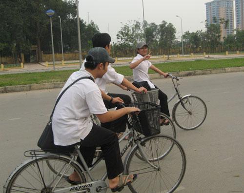 Hà Nội sẽ có đường riêng cho xe đạp? - 2