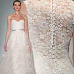 Thời trang - Váy cưới ren đem nét duyên cho nàng dâu