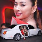Phim - Vân Ngô đi siêu xe 8 tỷ gây chú ý