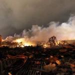 Mỹ: Cảnh tan nát sau vụ nổ như bom hạt nhân