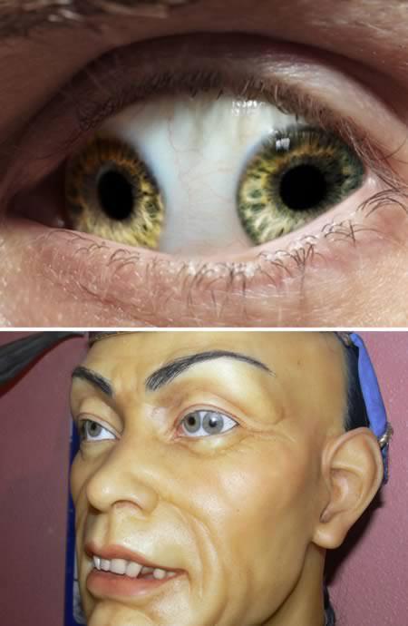 """Những con mắt kinh dị """"nhất quả đất"""" - 2"""