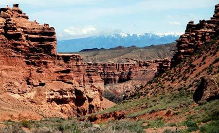 Ấn tượng khó quên nơi hẻm núi Charyn - 3