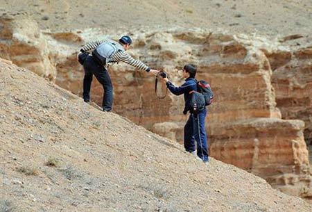 Ấn tượng khó quên nơi hẻm núi Charyn - 4