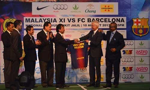 Du đấu Hè: Barca đến Malaysia - 1