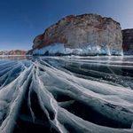 Du lịch - 'Khe nứt trái đất' biến thành hồ nước tuyệt đẹp