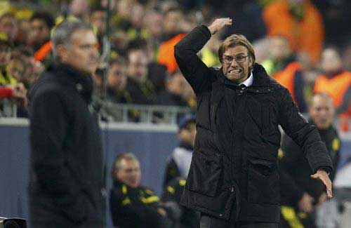 BK Cup C1: Mourinho chê Klopp nói nhiều - 1