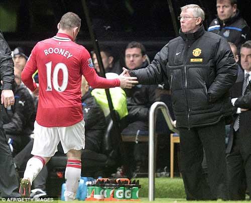 Sir Alex bác bỏ tin Rooney sẽ ra đi - 1