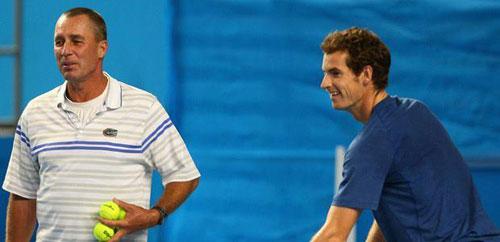 """Murray """"đấu"""" với thầy Ivan Lendl - 1"""