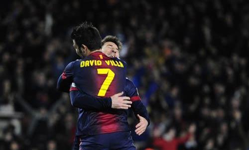David Villa hạnh phúc tại Nou Camp - 1