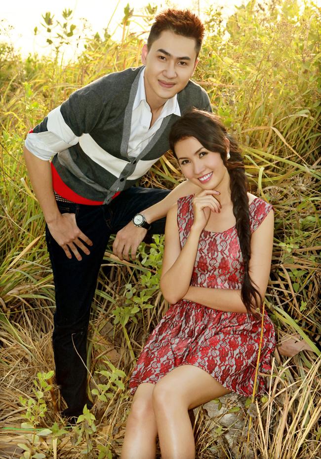 Đỗ Tùng Lâm và Phan Thị Mơ - Top 5 Hoa hậu Việt Nam 2012 vừa cùng nhau thực hiện bộ ảnh mới