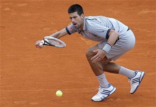 Djokovic - Fognini: Tốc độ chóng mặt (BK Monte-Carlo) - 1