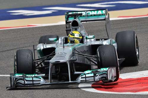 F1- Phân hạng Bahrain GP: Nico Roberg bất ngờ đoạt pole - 3