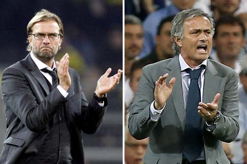 HLV Klopp lại trêu tức Mourinho - 1