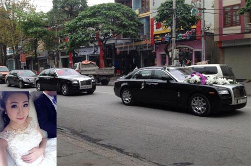 Rolls-Royce làm xe hoa tại Quảng Ninh - 1