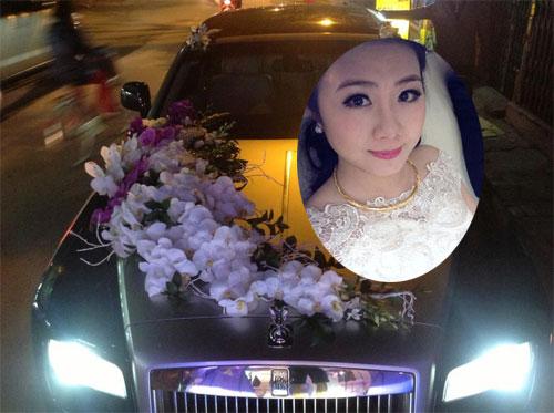 Rolls-Royce làm xe hoa tại Quảng Ninh - 2