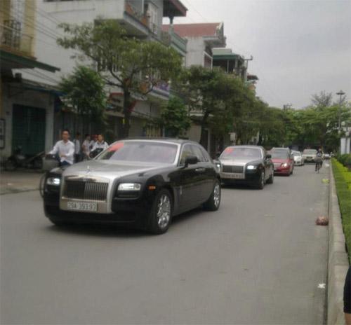 Rolls-Royce làm xe hoa tại Quảng Ninh - 3
