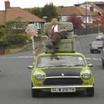 Video Clip Cười - Mr Bean: siêu xe