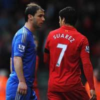 Ivanovic tố bị Suarez cắn lén