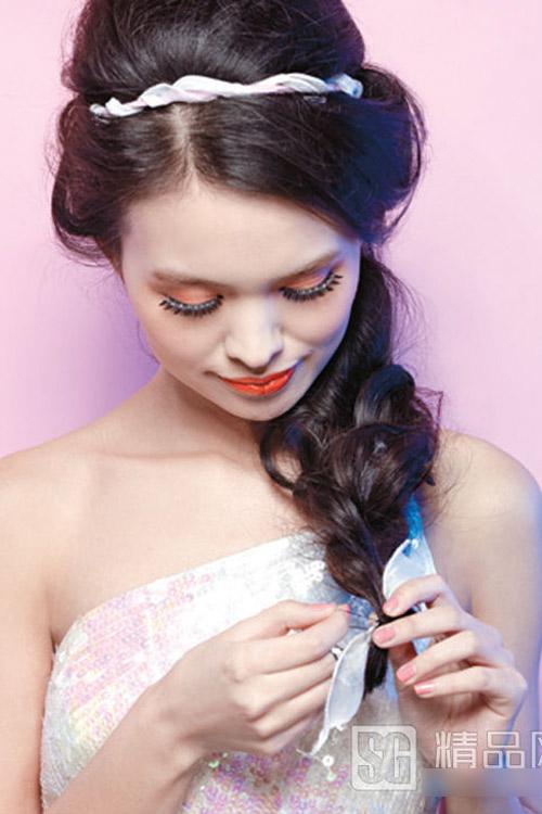 5 kiểu tóc cưới đẹp và dễ thực hiện - 12