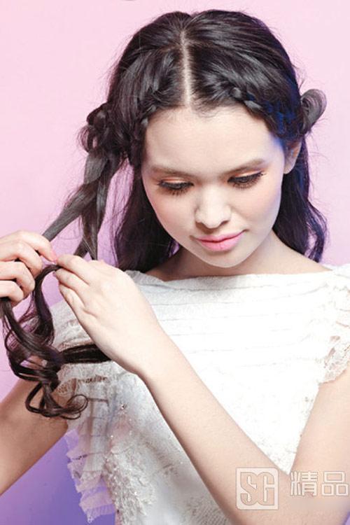 5 kiểu tóc cưới đẹp và dễ thực hiện - 3