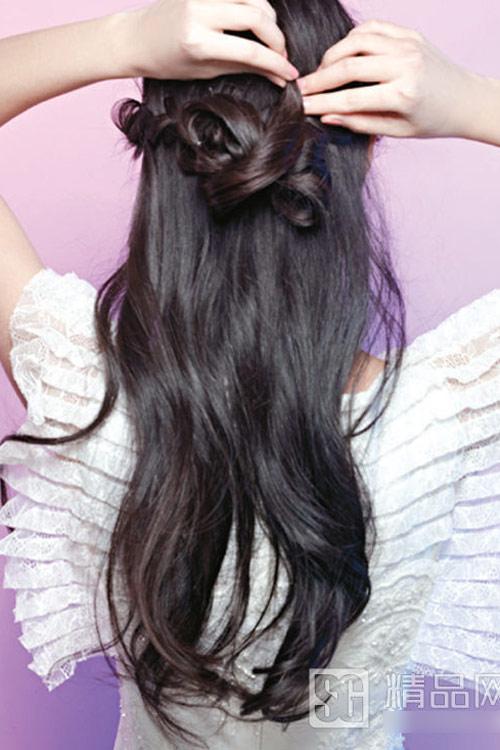 5 kiểu tóc cưới đẹp và dễ thực hiện - 7