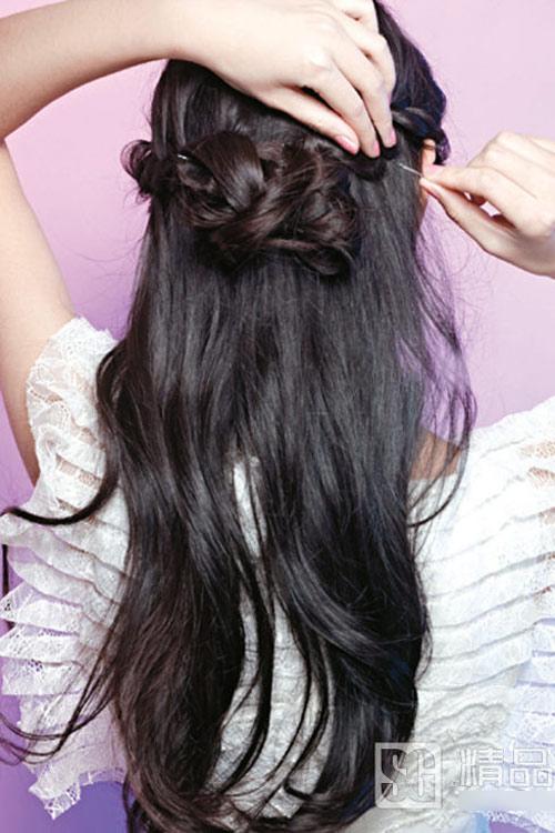 5 kiểu tóc cưới đẹp và dễ thực hiện - 6