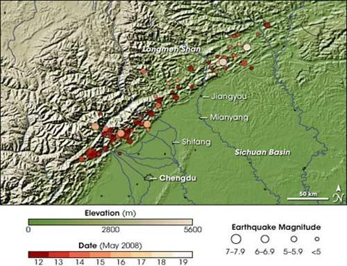 Hé lộ nguyên nhân trận động đất ở Trung Quốc - 1
