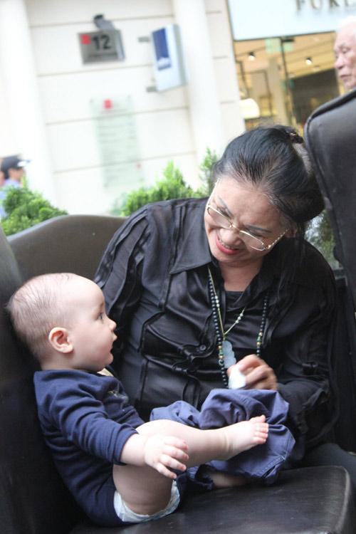 Thanh Lam khoe cháu trai lai Tây đáng yêu - 5