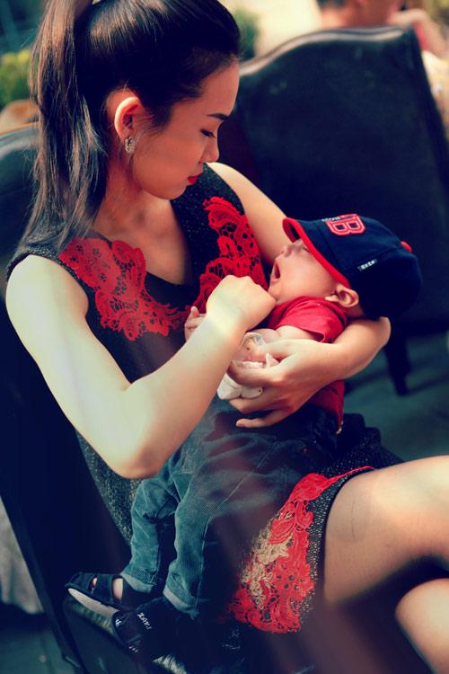 Thanh Lam khoe cháu trai lai Tây đáng yêu - 16